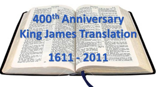 In 2011 the Authorised King James version celebrated its 400th anniversary