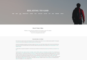 Explaining the Christadelphian Aims on Relating to God page.